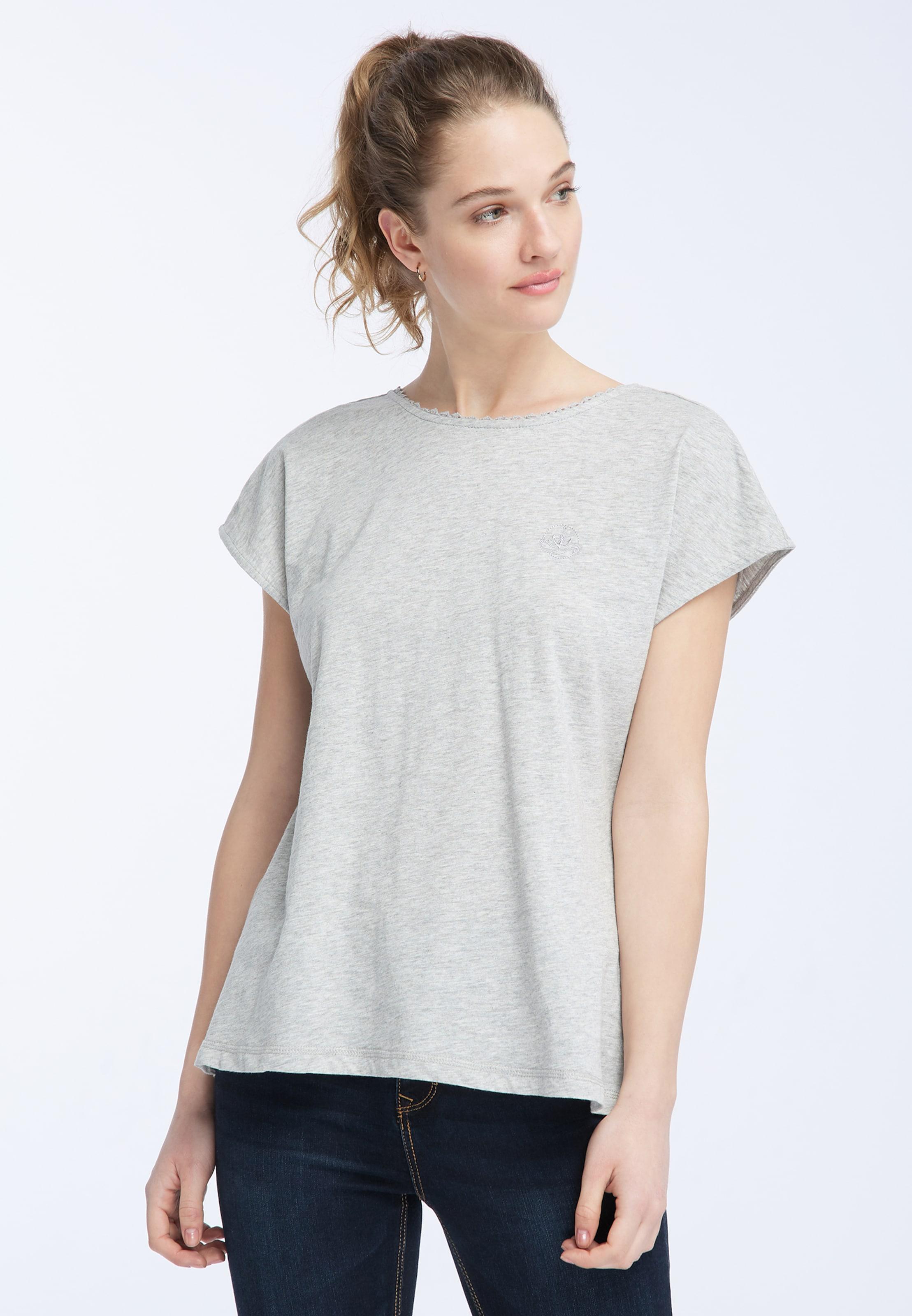 Graumeliert Dreimaster Shirt In Dreimaster Shirt ZuwPiTOXk