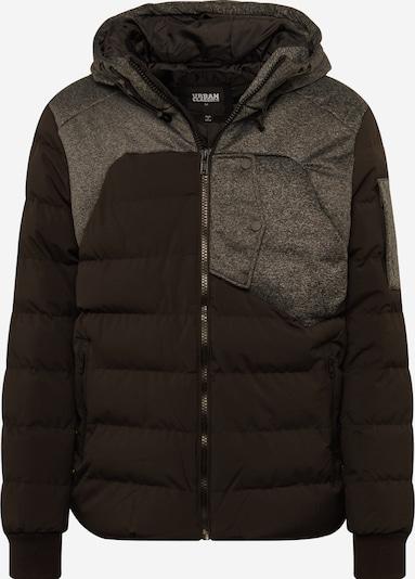 Urban Classics Winterjacke in grau / schwarz, Produktansicht
