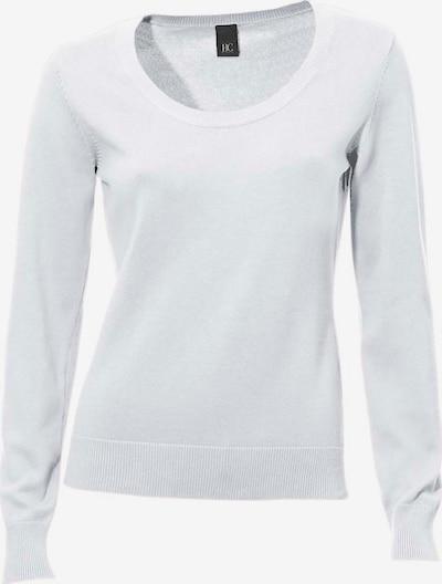 heine Rundhals-Pullover in weiß, Produktansicht