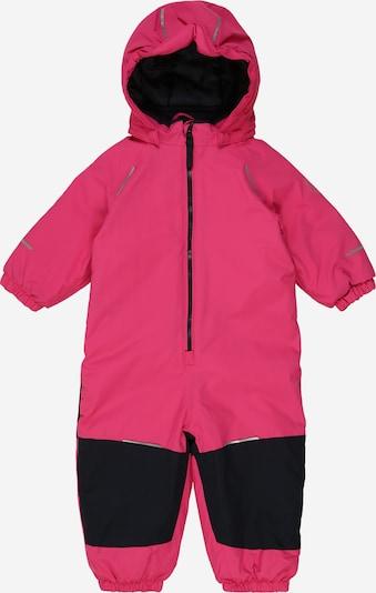NAME IT Schneeanzug in ultramarinblau / neonpink, Produktansicht