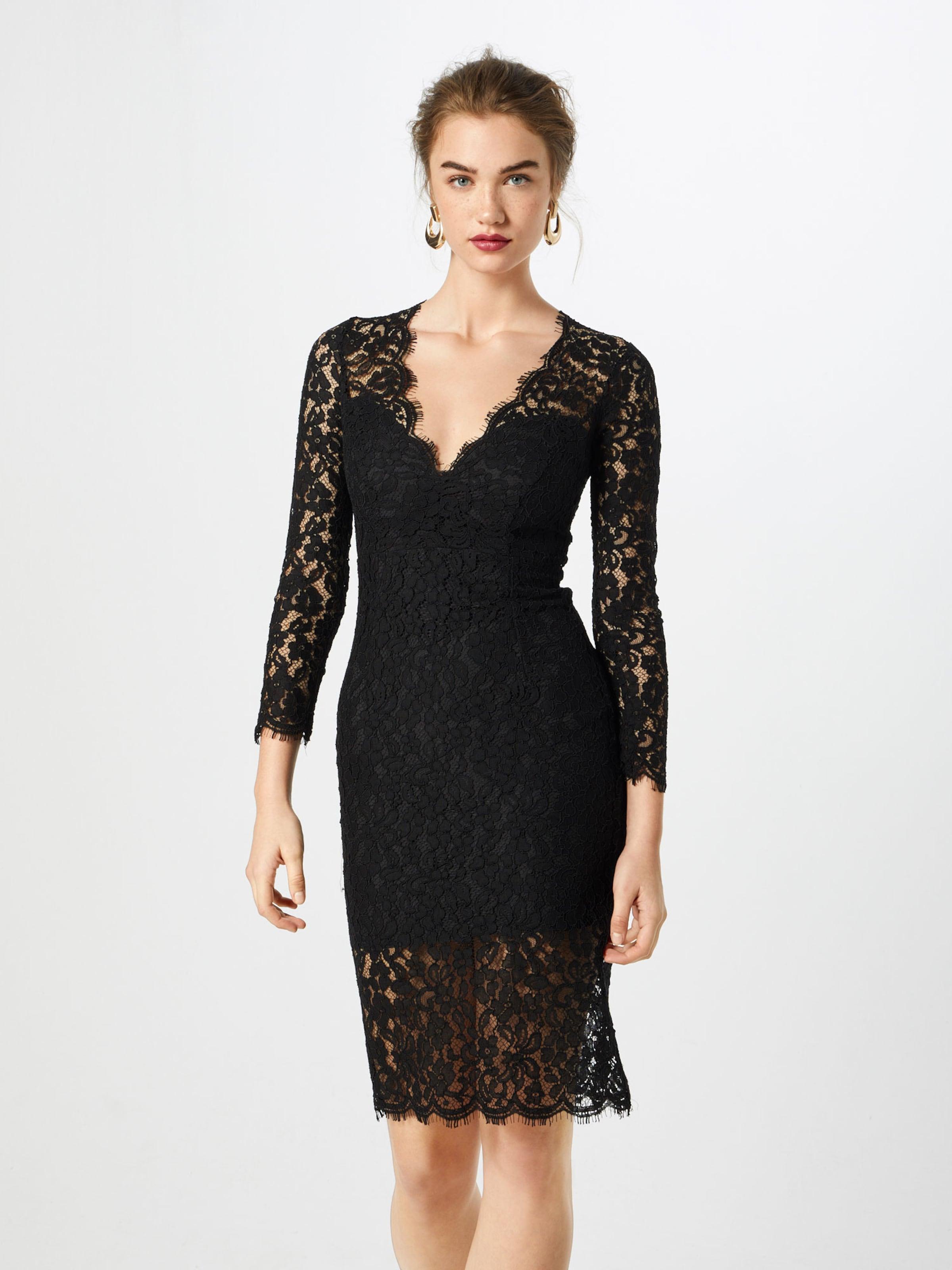 'midnight Lace Dress' Bardot In Kleid Schwarz hrxtdsCQB