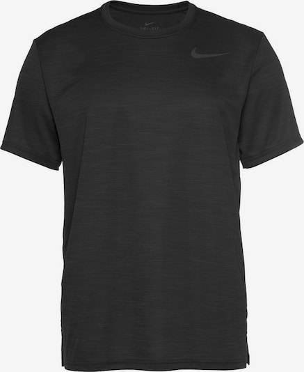 NIKE Sport-Shirt 'SUPERSET TOP SS' in schwarz, Produktansicht