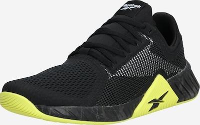 REEBOK Sportschoen 'FLASHFILM TRAIN' in de kleur Neongeel / Zwart, Productweergave