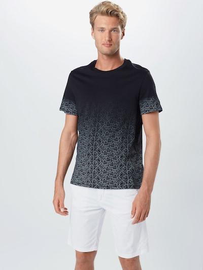 GUESS Tričko - černá / bílá: Pohled zepředu