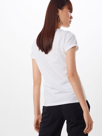 HUGO Shirt 'The plain' in weiß: Rückansicht
