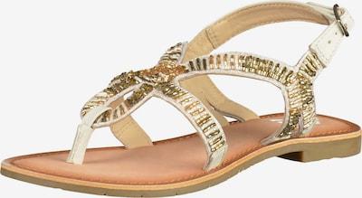 ILC Sandalen in gold / weiß, Produktansicht