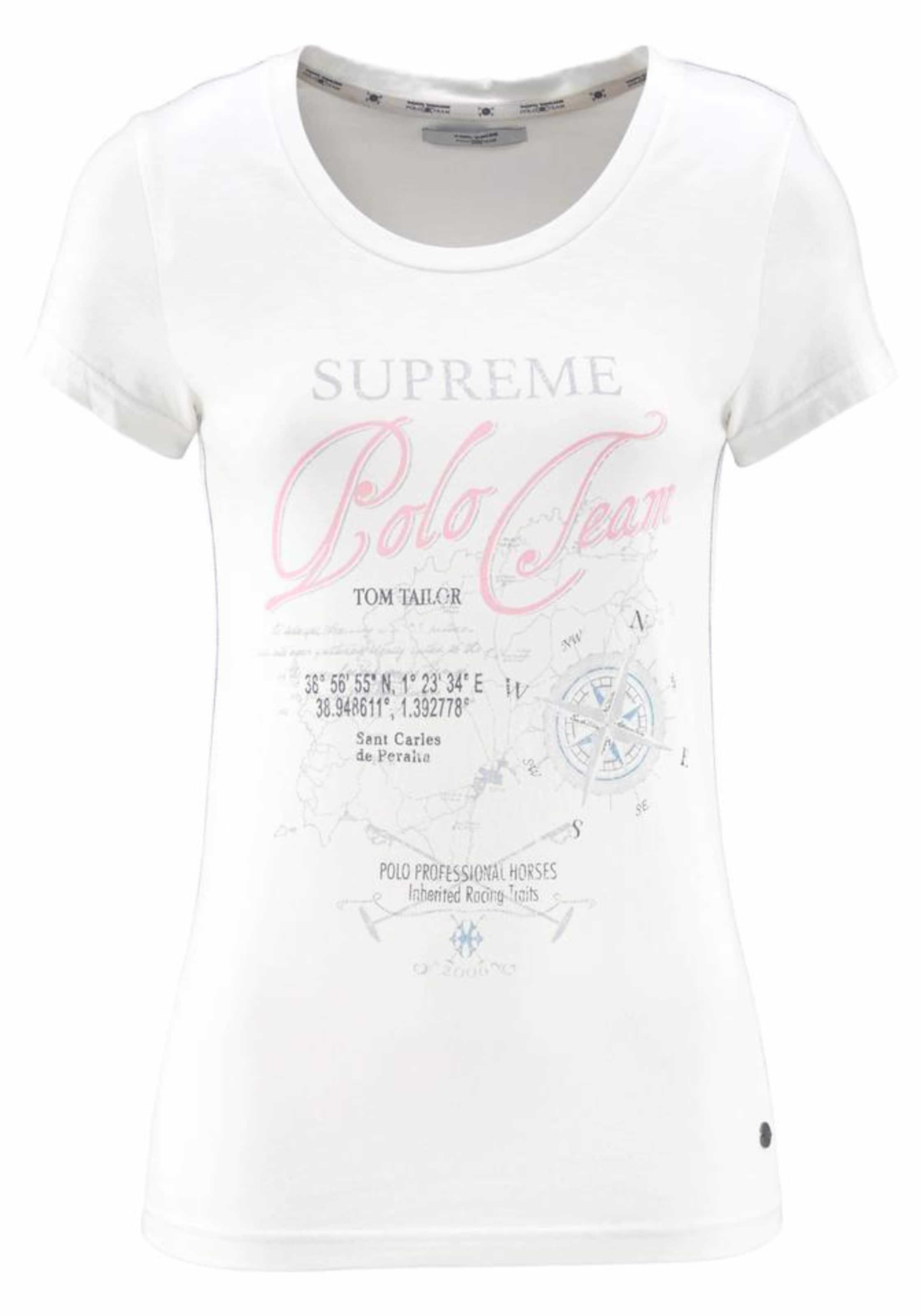 Verkauf Großhandelspreis Spielraum Perfekt Tom Tailor Polo Team T-Shirt Günstiger Preis Store Mit Kreditkarte Freiem Verschiffen OCOE5Gg