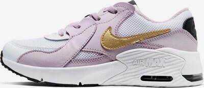 Nike Sportswear Sneaker 'Air Max Excee' in gold / flieder / weiß: Frontalansicht