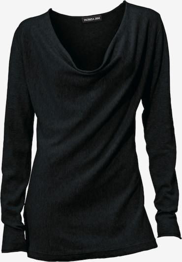 heine Feinstrickpullover in schwarz, Produktansicht
