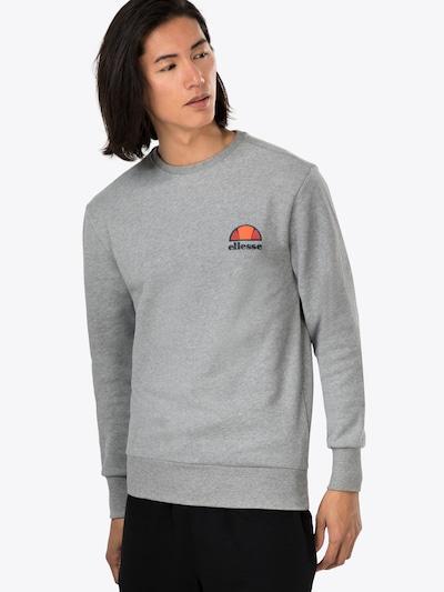 szürke melír ELLESSE Tréning póló 'DIVERIA', Modell nézet