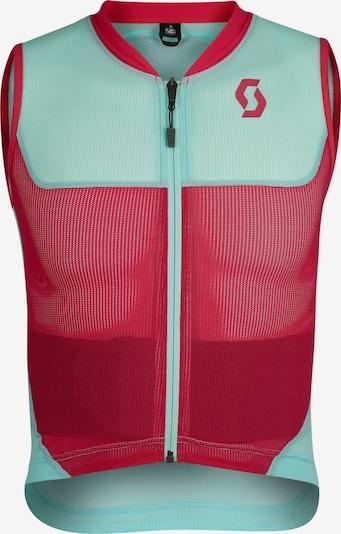 SCOTT Protektorenweste 'AirFlex Junior' in mint / pink, Produktansicht