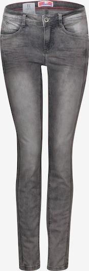 STREET ONE Jeans 'York' in grau / schwarz, Produktansicht