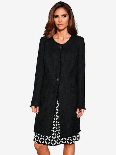 heine Jacke in schwarz, Modelansicht