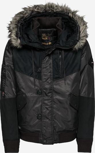 khujo Kurtka zimowa 'TIMUR' w kolorze antracytowy / czarnym, Podgląd produktu