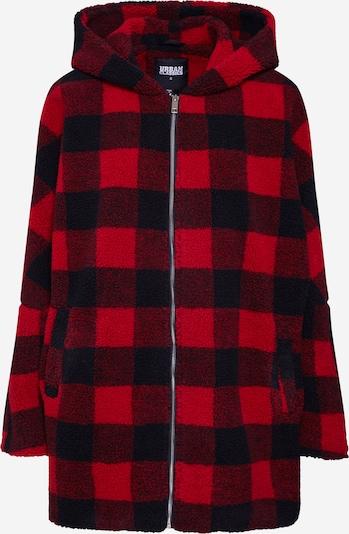 Urban Classics Jacke in rot / schwarz, Produktansicht