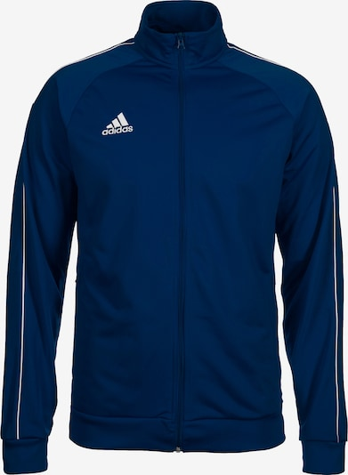 ADIDAS PERFORMANCE Sportjas 'CORE' in de kleur Donkerblauw / Wit, Productweergave