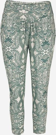 LASCANA Alibaba-bukser i creme / petroleum, Produktvisning