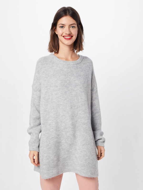 ABOUT YOU Pullover 'Mina' in grau, Modelansicht