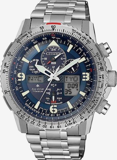 CITIZEN Funkchronograph 'Promaster Eco-Drive Skyhawk' in dunkelblau / silber, Produktansicht