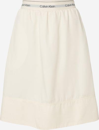Calvin Klein Jupe en beige, Vue avec produit