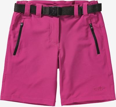CMP Shorts in pink / schwarz, Produktansicht