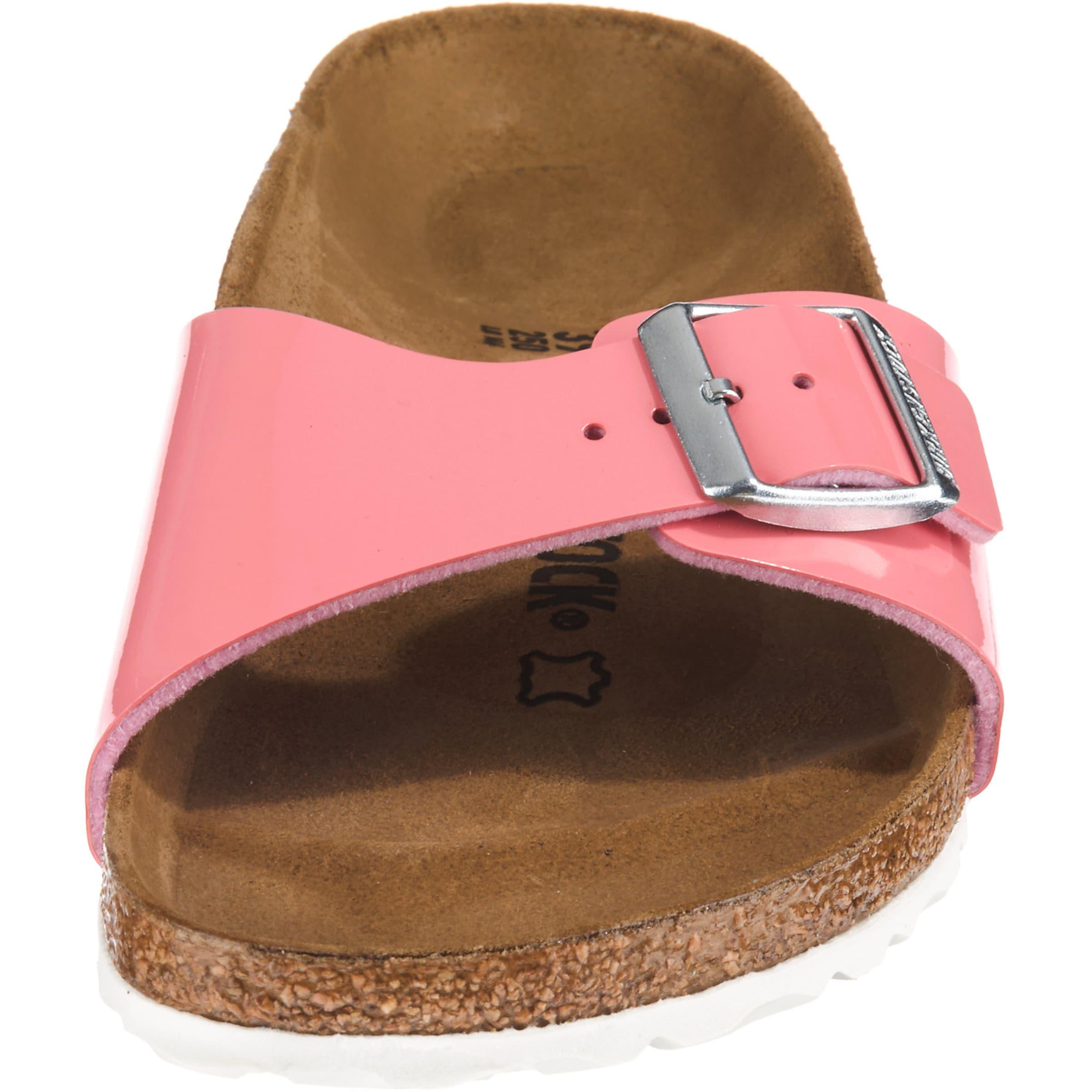 In Birkenstock Lack' Pink Pantolette Bf 'madrid I6yYbm7gvf