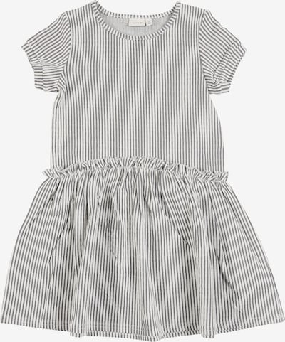 NAME IT Kleid 'FASTRIPE' in grau, Produktansicht