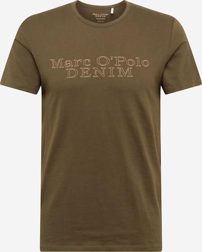 Marc O'Polo DENIM T-Shirt in dunkelgrün / orange, Produktansicht