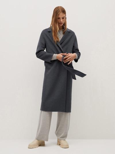 MANGO Přechodný kabát 'Batin' - grafitová, Model/ka
