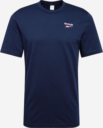 Tricou Reebok Classic pe albastru închis / roșu / alb, Vizualizare produs