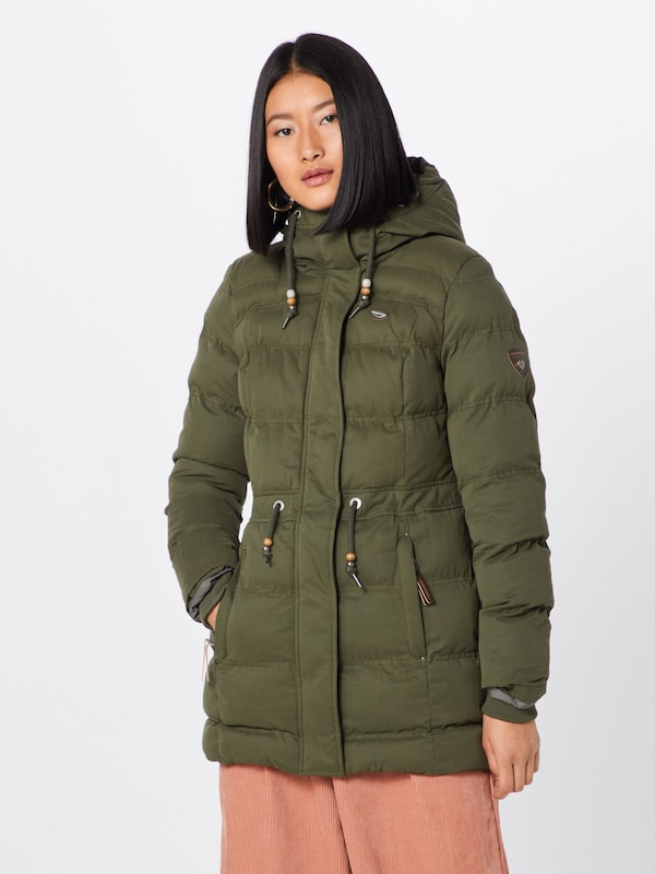 En D'hiver Puffy Olive 'ashani Ragwear Veste A' qzMSUVpG