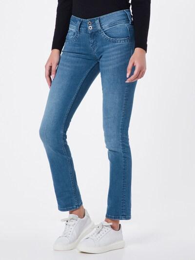 Pepe Jeans Jeans 'Gen Straight Leg' in blue denim, Modelansicht