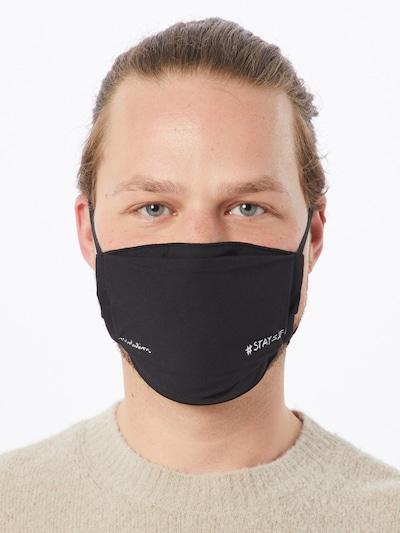 recolution Stoffmasken '6er Pack STAYSAFE' in schwarz: Frontalansicht