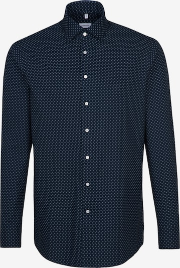 SEIDENSTICKER Zakelijk overhemd ' Slim ' in de kleur Blauw / Wit, Productweergave