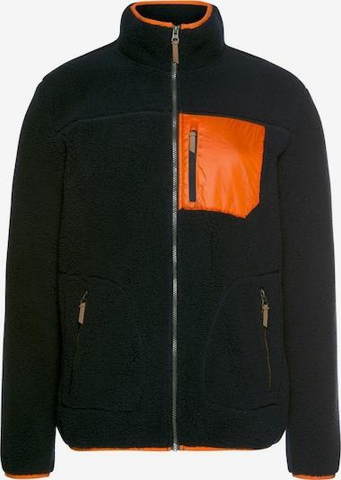 ICEPEAK Fleecejacke 'Amher' in orange / schwarz, Produktansicht
