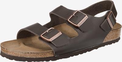 BIRKENSTOCK Sandals 'Milano' in Dark brown, Item view