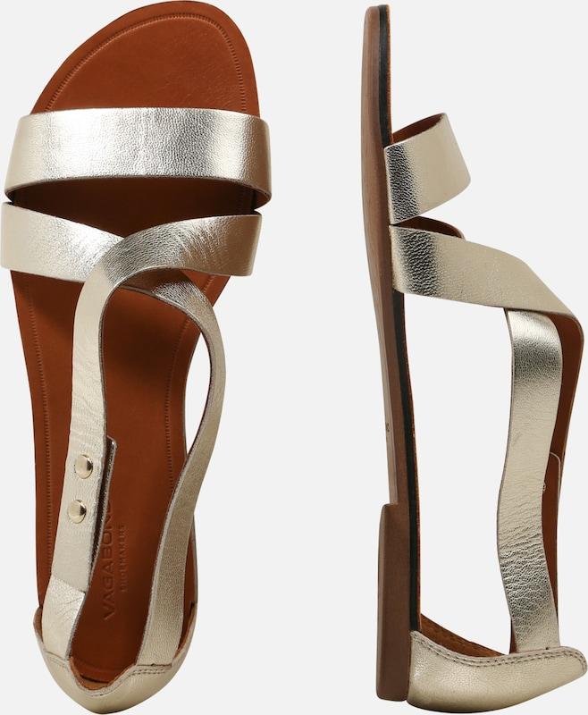 Shoemakers Sandales Lanières MarronOr En Vagabond À 0k8nwOP