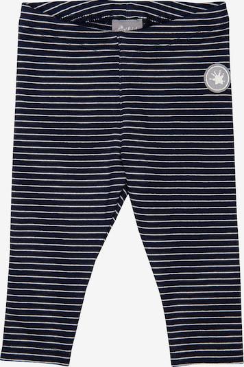 SIGIKID Leggings in nachtblau / weiß, Produktansicht