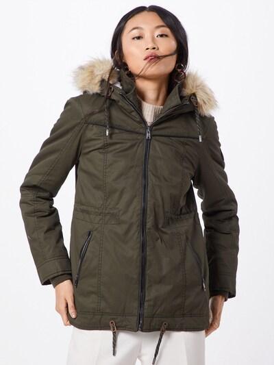 ONLY Zimska jakna 'TINA' | zelena barva: Frontalni pogled