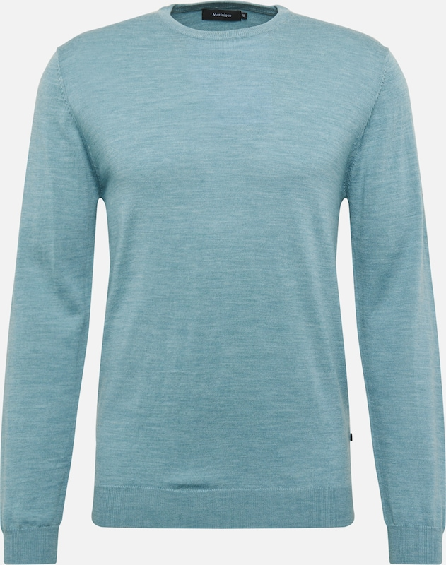 Matinique Pullover 'Margrate' in aqua, Produktansicht