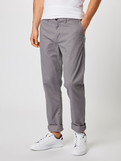 SCOTCH & SODA Pantalon chino 'Mott' en gris: Vue de face