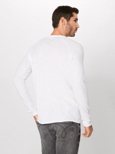 fehér AMERICAN VINTAGE Póló 'Sonoma': Hátulnézet