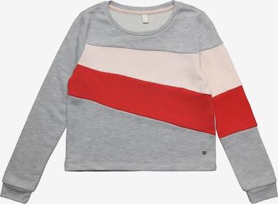 ESPRIT Sweatshirt in grau / pfirsich / rot, Produktansicht