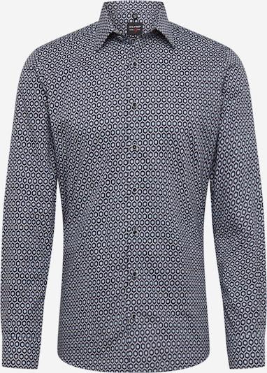 OLYMP Hemd 'Level 5' in navy / schwarz / weiß, Produktansicht