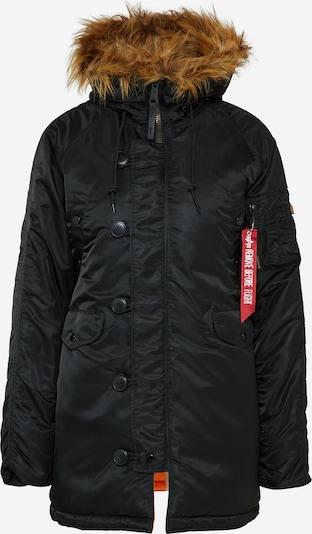 ALPHA INDUSTRIES Zimná parka - čierna, Produkt