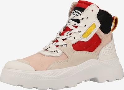 Palladium Sneaker in pastellpink / rot / schwarz / weiß, Produktansicht
