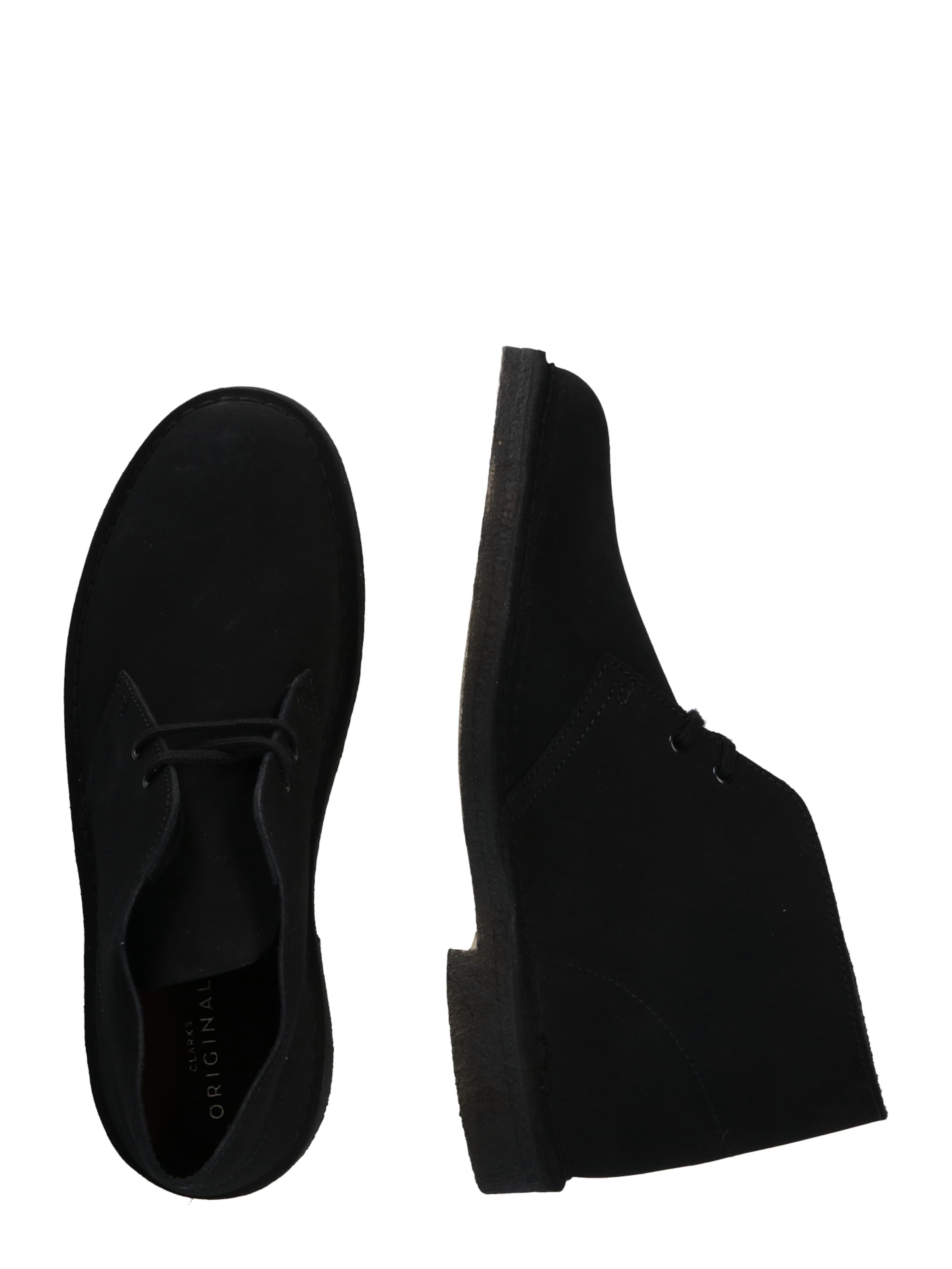 Originals Desert Clarks In boots Schwarz LSMVpUqzG