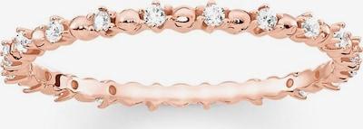 Thomas Sabo Ring in rosegold / weiß, Produktansicht