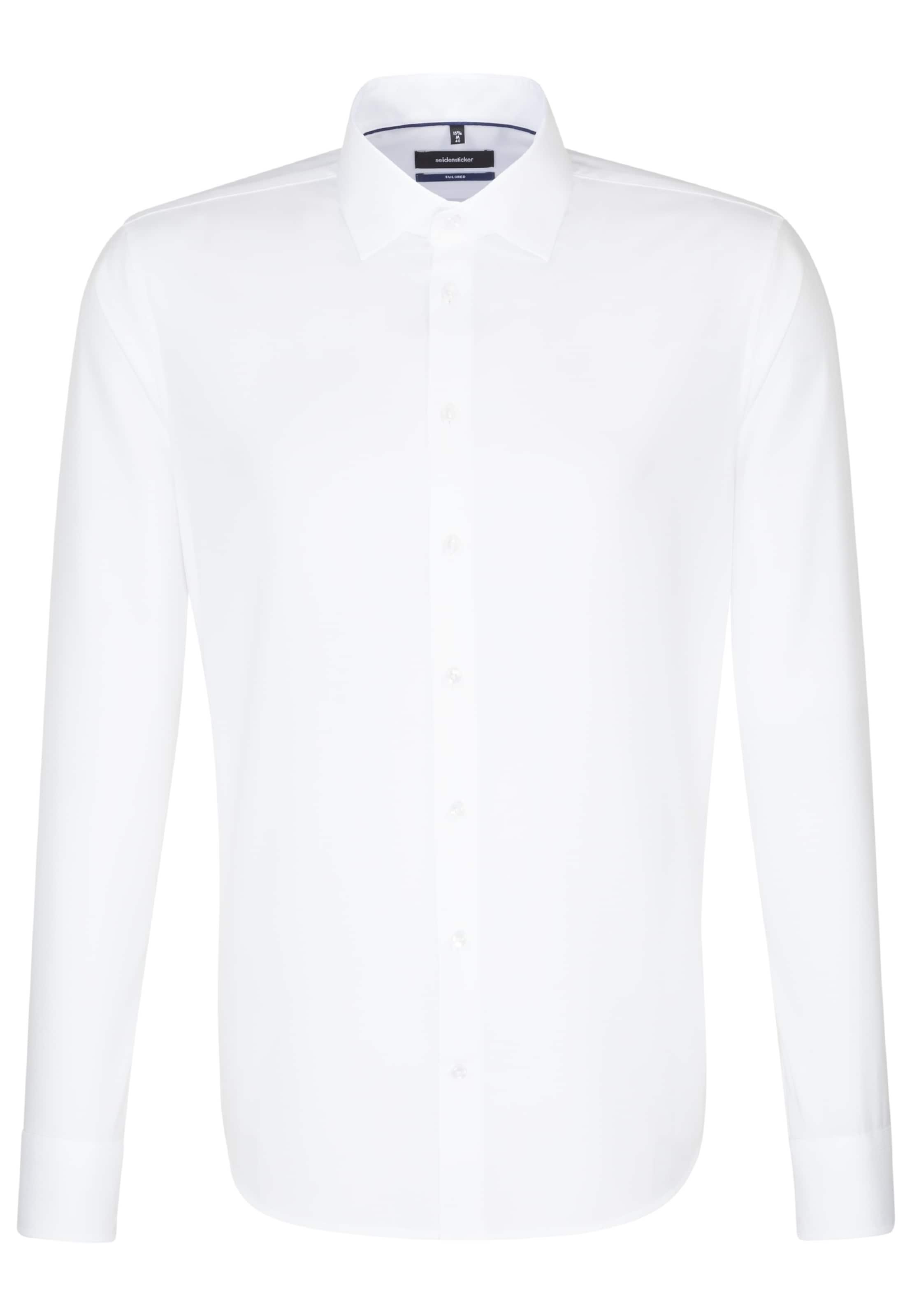 Hemd 'tailored' Weiß Business Seidensticker In VSUzMp