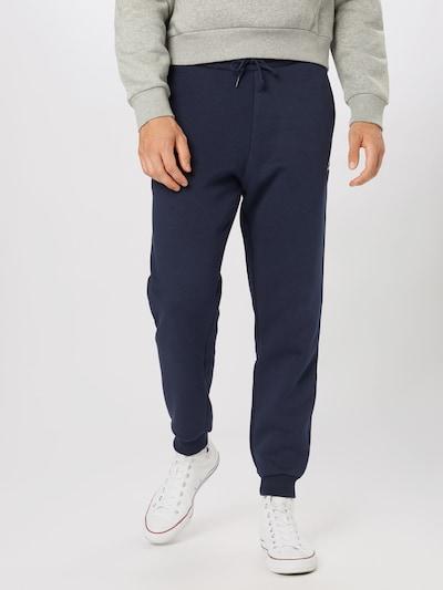 CONVERSE Spodnie w kolorze ciemny niebieski / białym: Widok z przodu